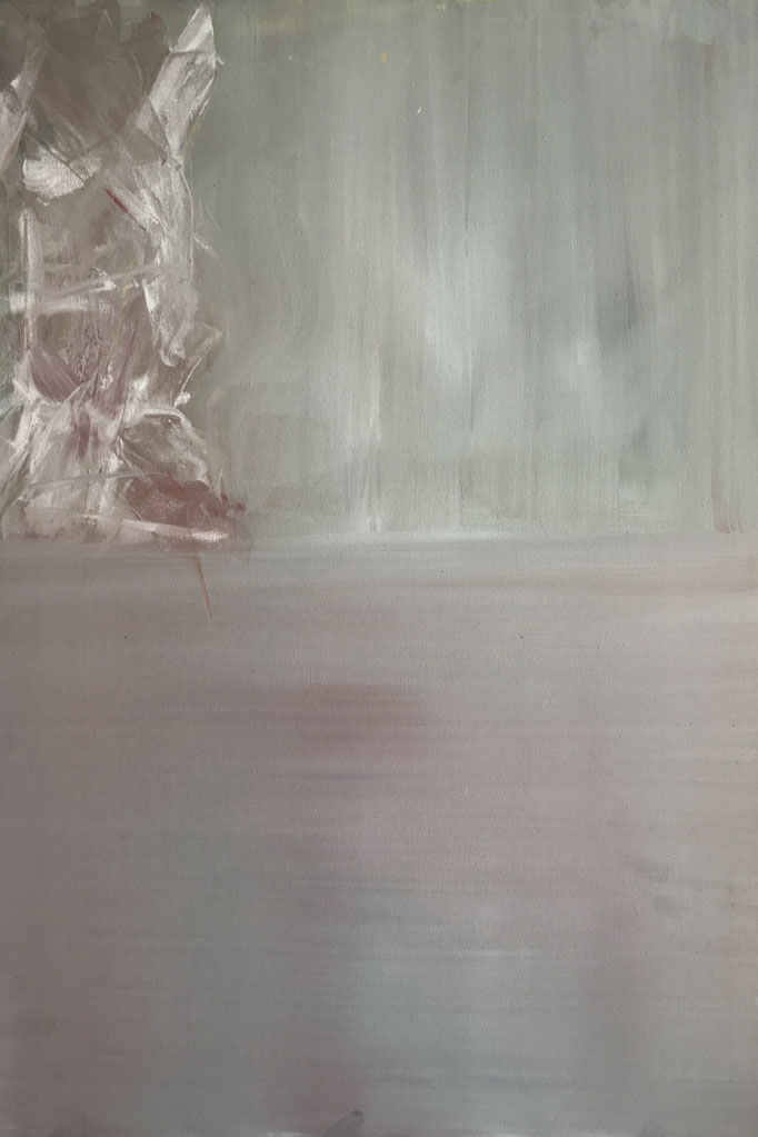 VEREIST - Acryl auf Leinwand 50 x 70 cm, 2018 | Blanka von Rohr | Malerei | Hamburg