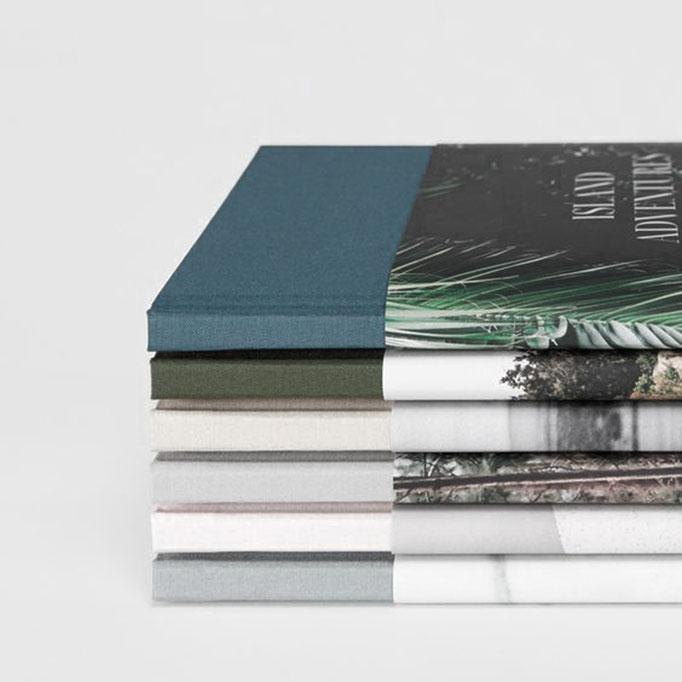 Fotobuch, Speisebuch, Broschüren