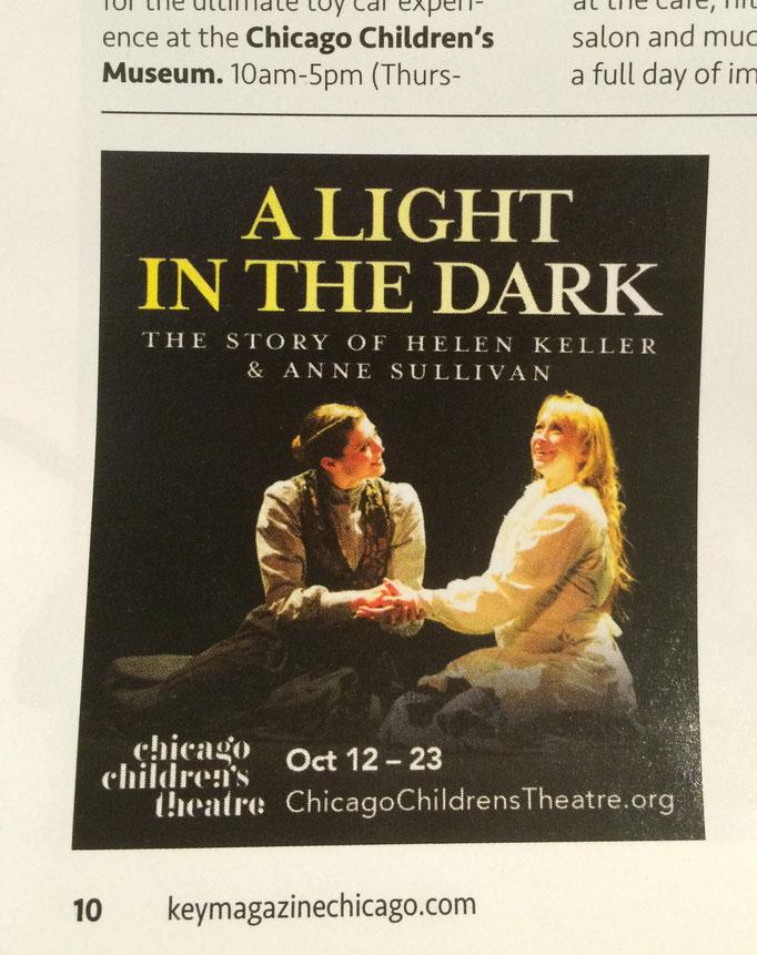 Light In The Dark - Print Ad (Chicago Children's Theatre)