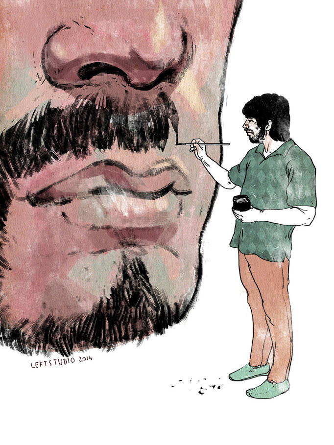 How to grow your beard, ELLE MAN Magazine, March 2014