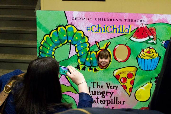 """Chicago Children's Theatre grand opening """"The very hungry caterpillar"""", May 2014"""