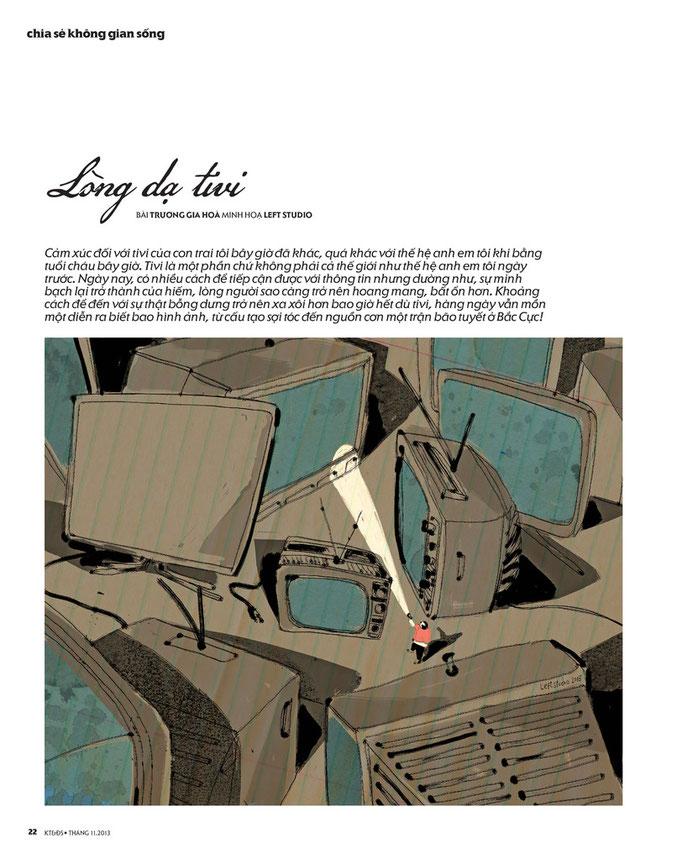 Kientruc & Doisong Magazine, November 2013