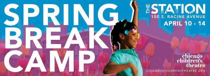 Spring Break Camp 2017 - Web graphic - (Chicago Children's Theatre)