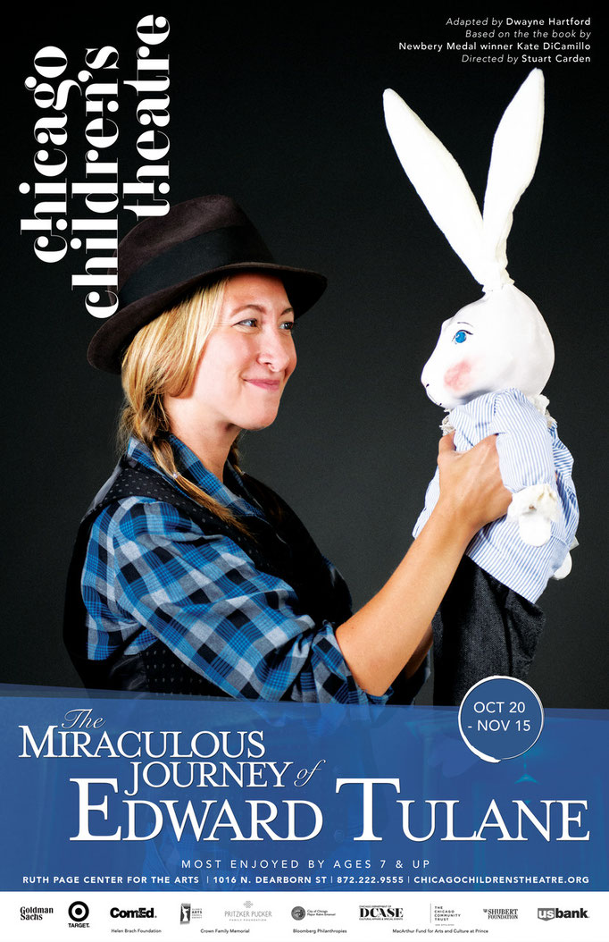 The Miraculous Journey of Edward Tulane - Poster (Chicago Children's Theatre)