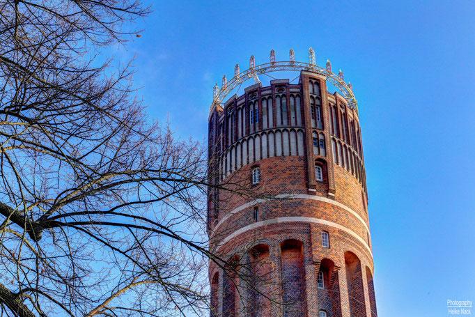 Wichern-Adventskranz auf dem Wasserturm Lüneburg