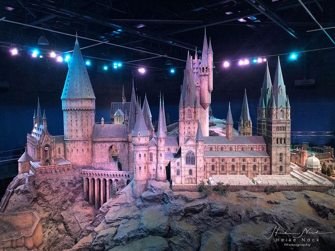 Hogwarts Zauberschule in Miniatur