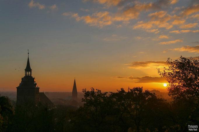 Sonnenaufgang auf dem Kalkberg