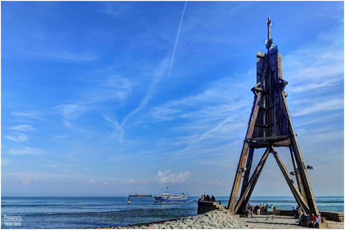 Kugelbake bei Cuxhaven