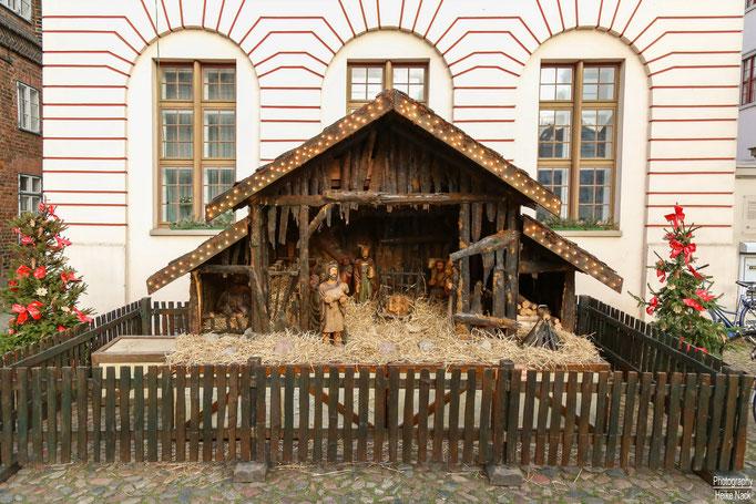 Die Weihnachtskrippe in Lüneburg