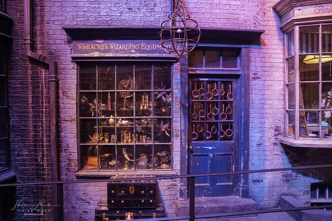 Ein Laden in der Winkelgasse
