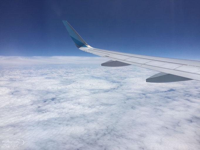 Mein 1. Flug - 10972,8 Meter hoch bei -53 Grad