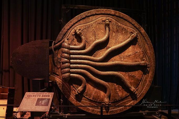 Die Schlangentür, die zur Kammer des Schreckens führt