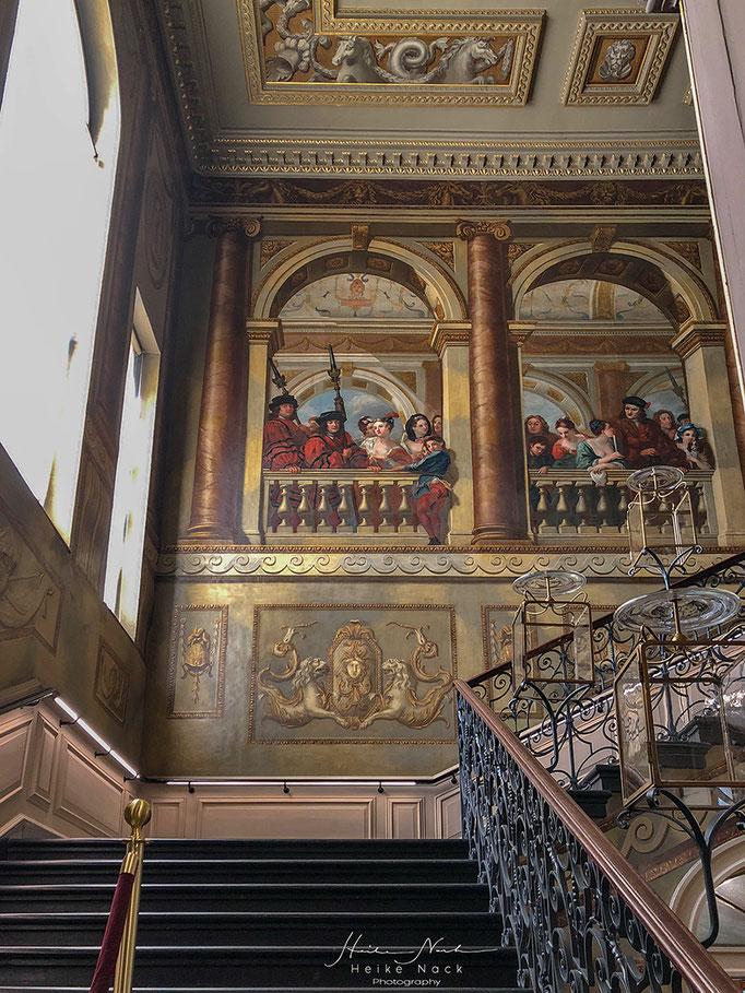 Die Treppe im Kensington Palast