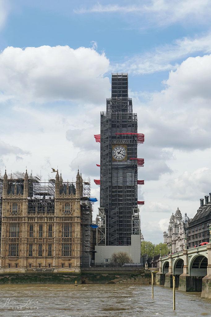 Der Big Ben wird restauriert
