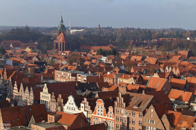 Blick vom Lüneburger Waasserturm