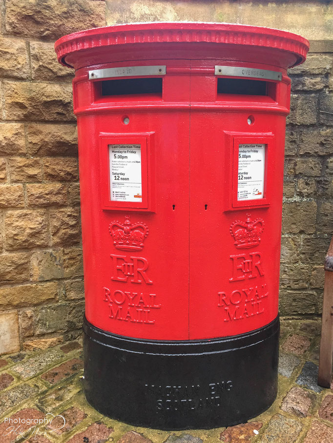 Pillar post box