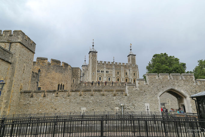 Windsor Castle mit White Tower