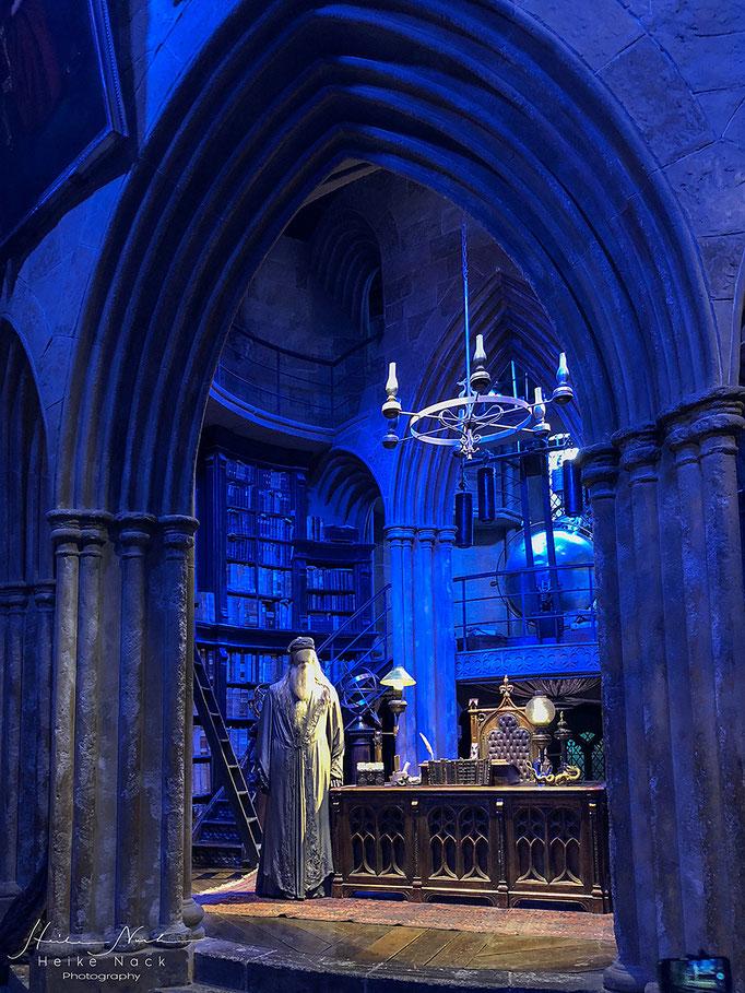Bei Professor Dumbledore