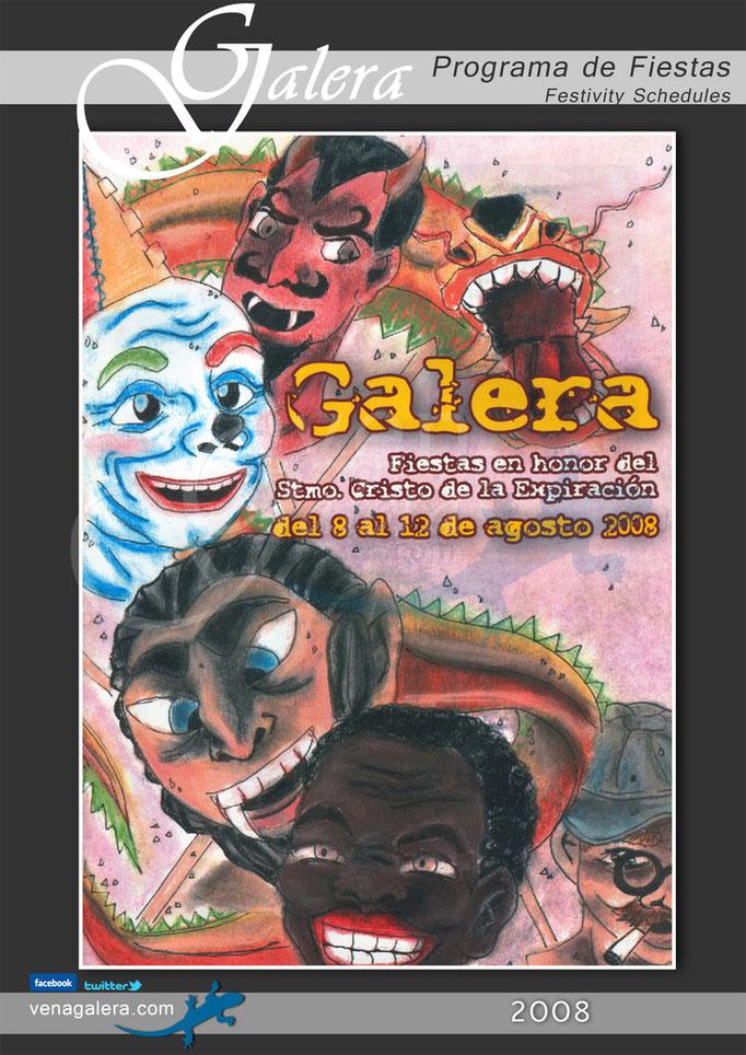 Programa Fiestas de Galera 2008