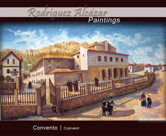 Convento - Pintor Jesús Rodríguez Alcázar - Puebla de Don Fadrique
