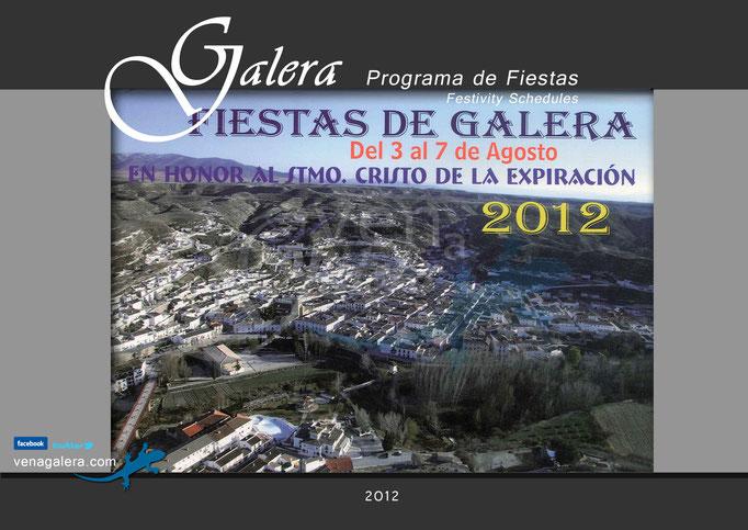 Programa Fiestas de Galera 2012