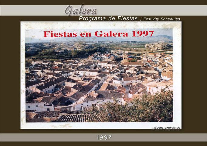 Programa Fiestas de Galera 1997
