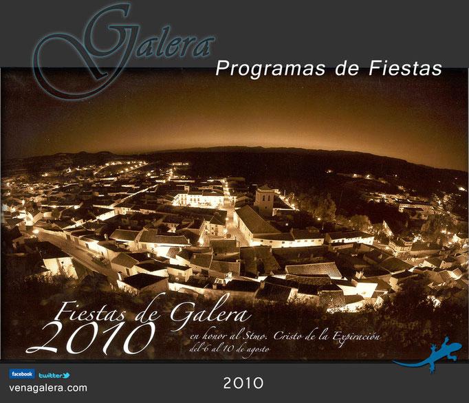 Programa Fiestas de Galera 2010