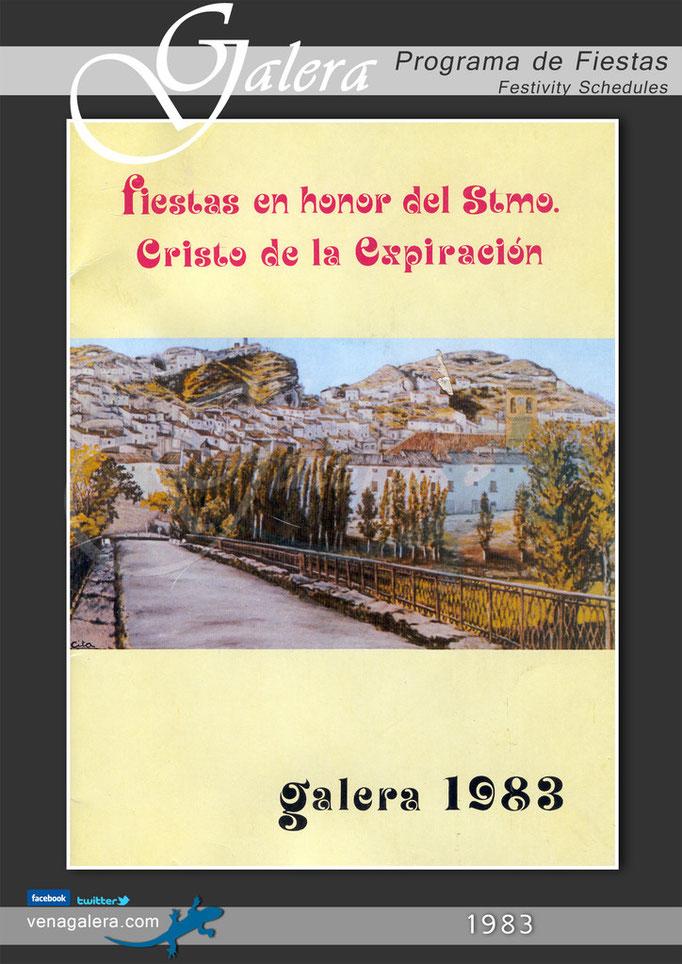 Programa Fiestas de Galera 1983