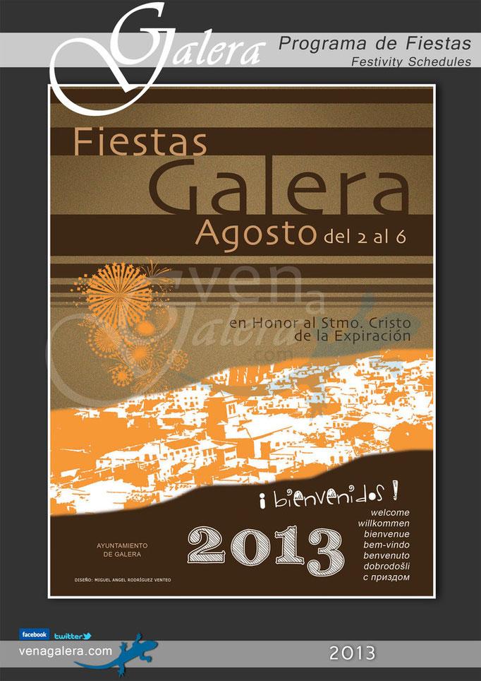 Programa Fiestas de Galera 2013