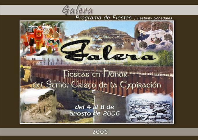 Programa Fiestas de Galera 2006