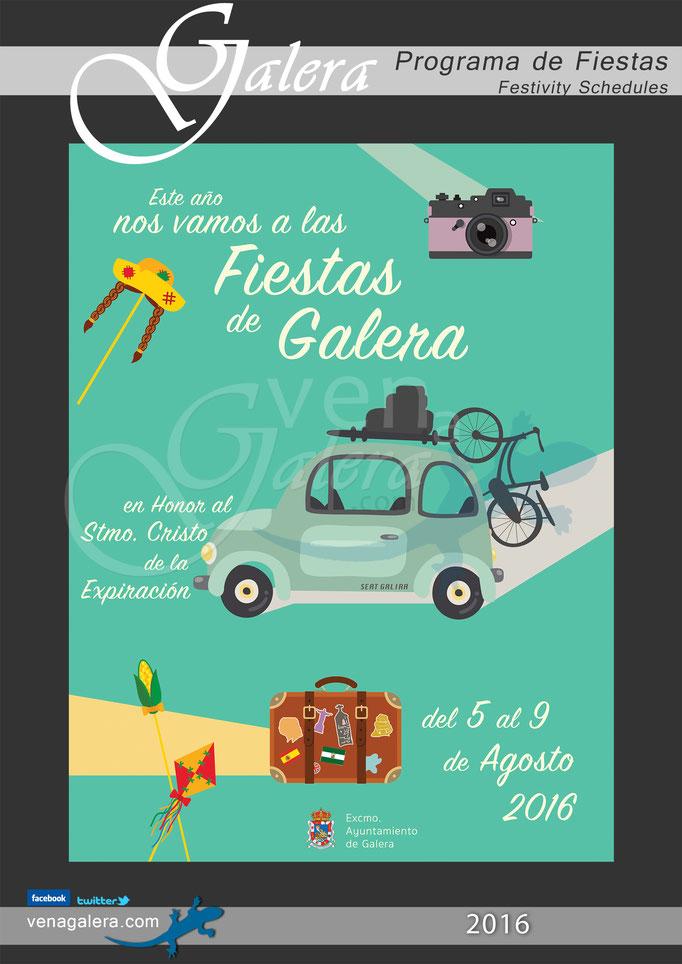 Programa Fiestas de Galera 2016