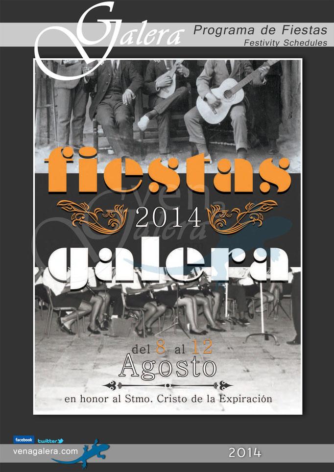Programa Fiestas de Galera 2014