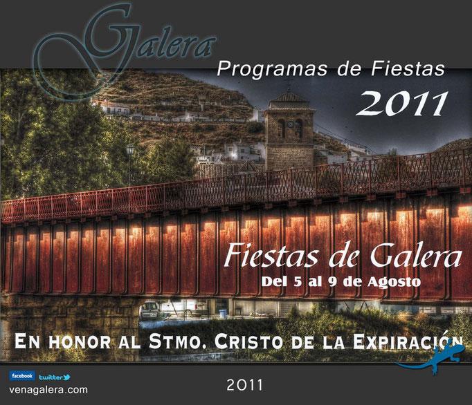 Programa Fiestas de Galera 2011