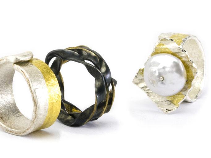 Joyas artísticas. Kumboo: Oro y plata