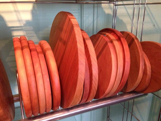 diverse Holzbretter