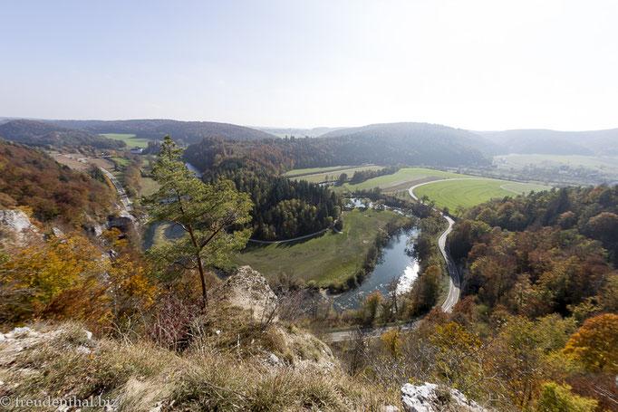 Felslandschaft beim Teufelsloch, Obere Donau