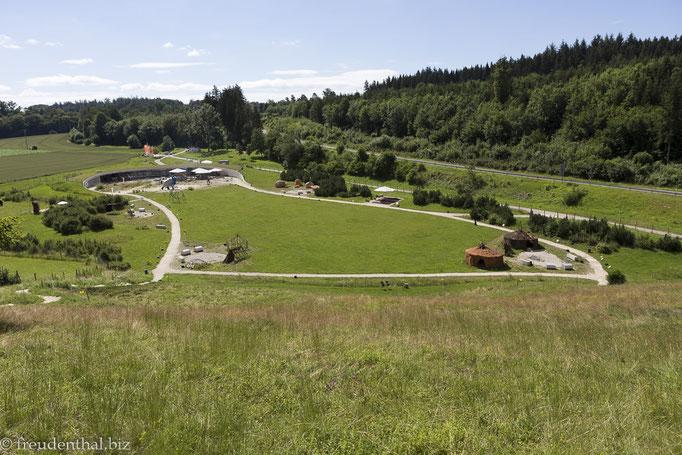 Gelände des Archäoparks Vogelherd