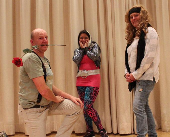 Blümchen, Sandy und Erna