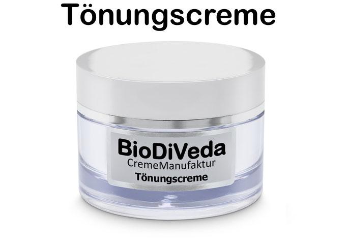 Bio DiVeda® Tönungscreme im Tiegel. Traumhafter Teint mit gleichzeitiger Pflege
