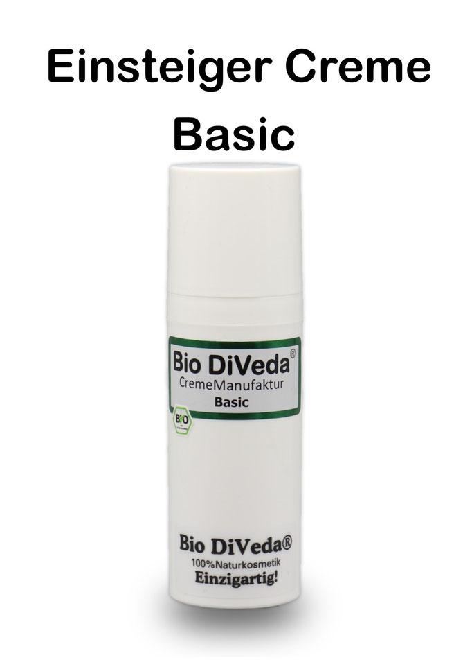 Bio DiVeda® Basic  EinsteigerCreme für junge Haut
