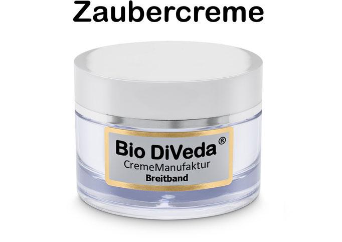 Bio DiVeda® Breitband  Zaubercreme dank Hyaluron, Vitaminen und B12 die Stärkung der Hautzellen