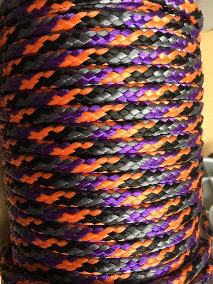 lila orange braun schwarz