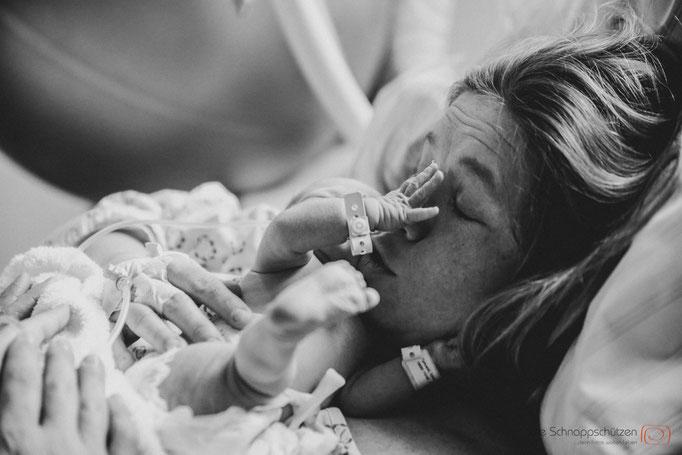 Erlebnisfotografie - hier: Geburtsfotografie | (c) die Schnappschützen