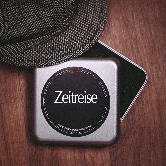 Foto-Geschenkbox Zeitreise
