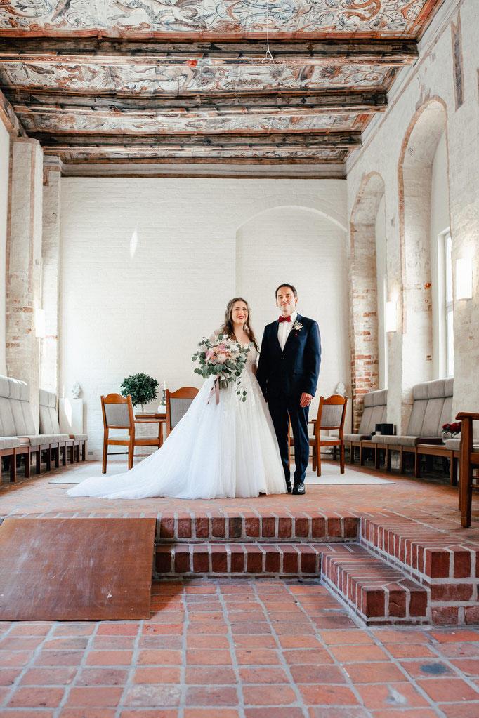 Brautpaar im Heinrich Heine Haus