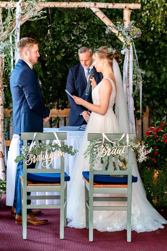 Eheversprechen der Braut