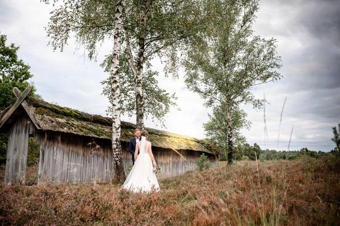 Romantik pur in der Lüneburger Heide