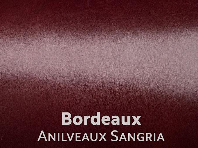 Boxcalf (Frenchcalf Anilin) bordeauxrot