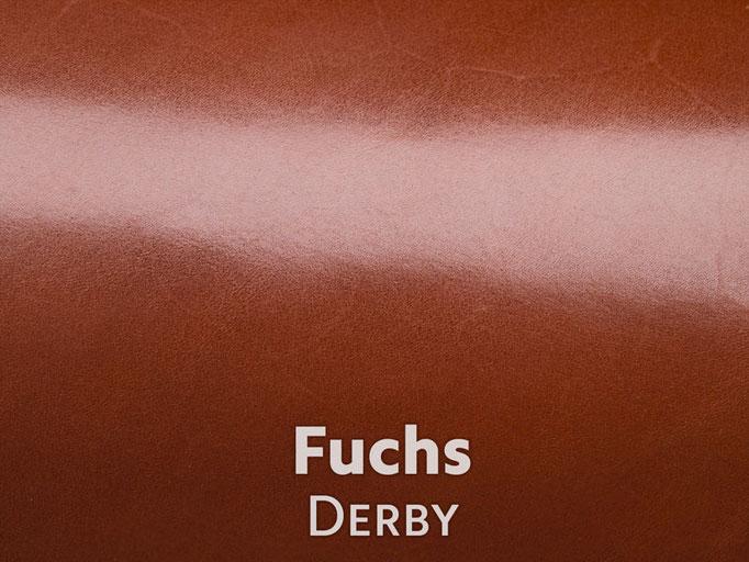 Boxcalf (Frenchcalf Anilin) Fuchsrot