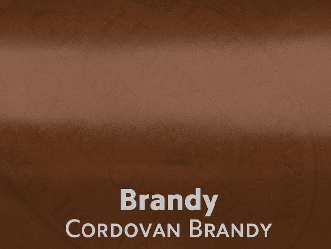 Cordovan (Pferdeleder) Brandy